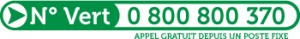 Numero vert TAD CTPM